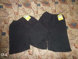 Черные шорты для физкультуры