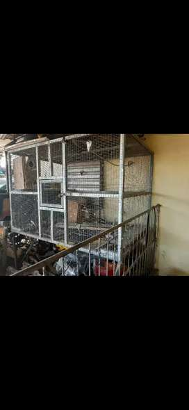 Large bird cage for sale with legs