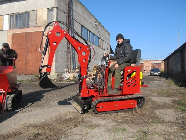 Мини экскаватор миниэкскаватор МД-3, мини трактор, минитрактор Винница - изображение 4