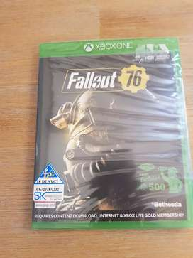 Fallout 76 Xbox One s game sealed and new