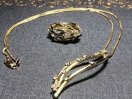 Золотой набор Piero Milano с бриллиантами
