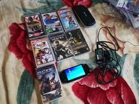 Sony Psp with included with 1 game of your choice system bundled