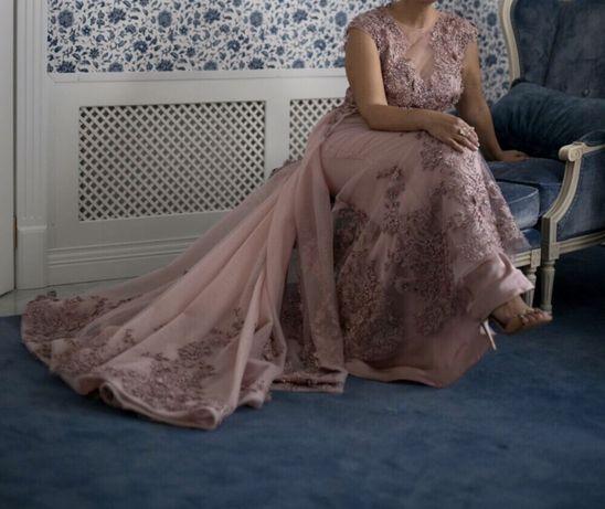 Продам шикарное вечернее (свадебное )Платье Одесса - изображение 3