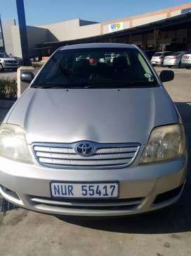 This 2005 Toyota Corolla in very good condition, drives well. R65000