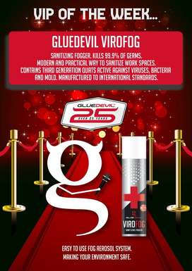 Glue Devil Disinfectant and Foggers clearance sale
