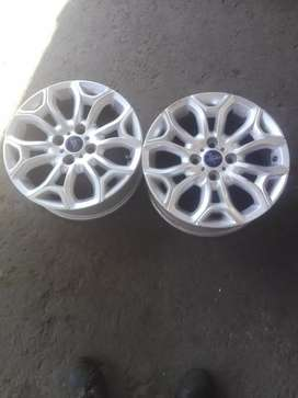"X2 good second hand rims 16"" for Ford Fiesta"