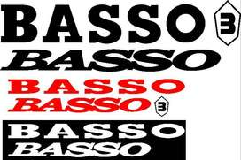 BASSO frame decals stickers sets
