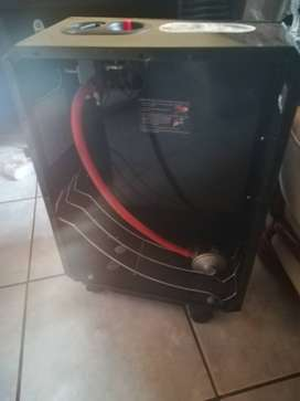 Three gas panel heater