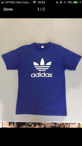 Adidas blue sweater
