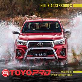 Toyota Hilux Nudge Bar and Accessories.