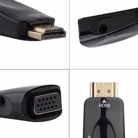 Конвертер переходник HDMI to VGA + ЗВУК , адаптер конвертор Кривой Рог - изображение 6