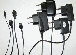 Зарядки для мобильных телефонов (разные)