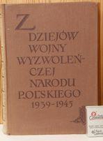Z dziejów wojny wyzwoleńczej narodu polskiego 1939-45