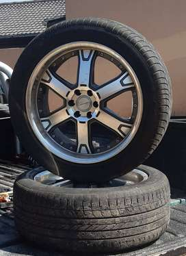 20 inch Racing Concept Rims and Tyres