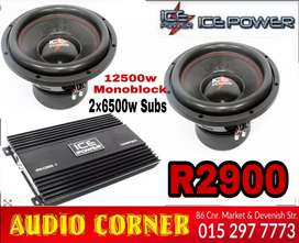 Car Sound Combo with Monoblock