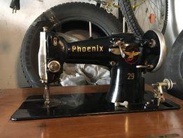 Maszyna do szycia Phoenix zabudowana w szafce stara oryginał