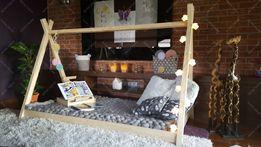 Łóżko domek drewniane dla dzieci TIPI Producent Lóżeczko skandynawskie
