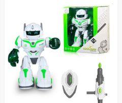 Робот, ходит, стреляет с миномета, световые и звуковые эффекты