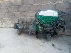 Ade 364 4ton complete engine and gearbox