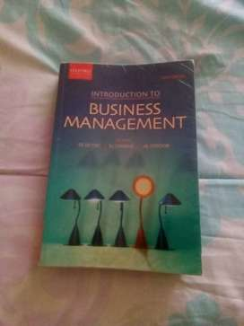 Introduction to business management 8th edition