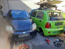 Chevrolet Spark and cherry QQ stripping