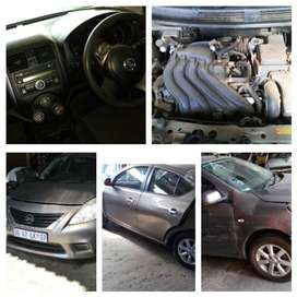 Selling 2013 till 2015 Nissan Almera Complete Airbags Set
