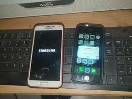 IPhone 5s and Samsung S5 4G
