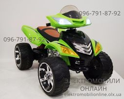 Детский электромобиль КВАДРОЦИКЛ SPORT 12V (MP3)+Пульт+Кожа+EVA-резина