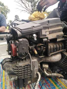 C230 engine and gearbox