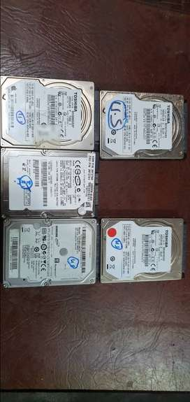 All Dead hard drives from 40 GB to 1 TB