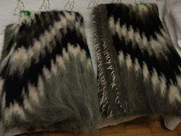 Плед одеяло из овечьей шерсти