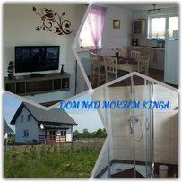 Całoroczny Dom nad morzem KINGA Smołdziński Las wakacje noclegi