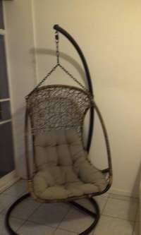 Image of URGENT SALE: 'Hanging Basket' Chair/Swing