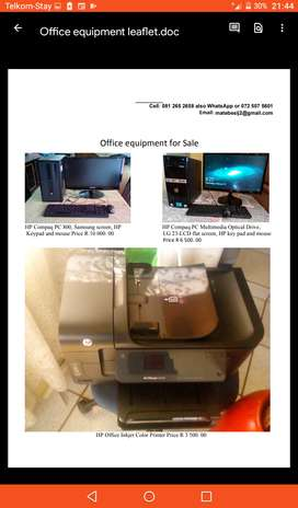 Office equipment for sale