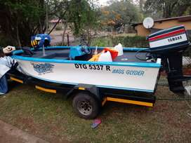 Bass Boat with 40HP Yamaha