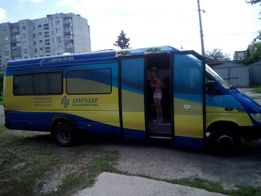 Перевозки автобусом, по городу, Украине,России