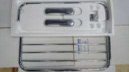 Półka łazienkowa na ręczniki Barwapol stal nierdzewna