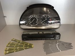 Ремонт битых пикселей ЖК Дисплеев приборки и магнитолы BMW E38,E39,E53