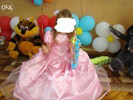 Платье на выпускной на девочку 5-7 лет.