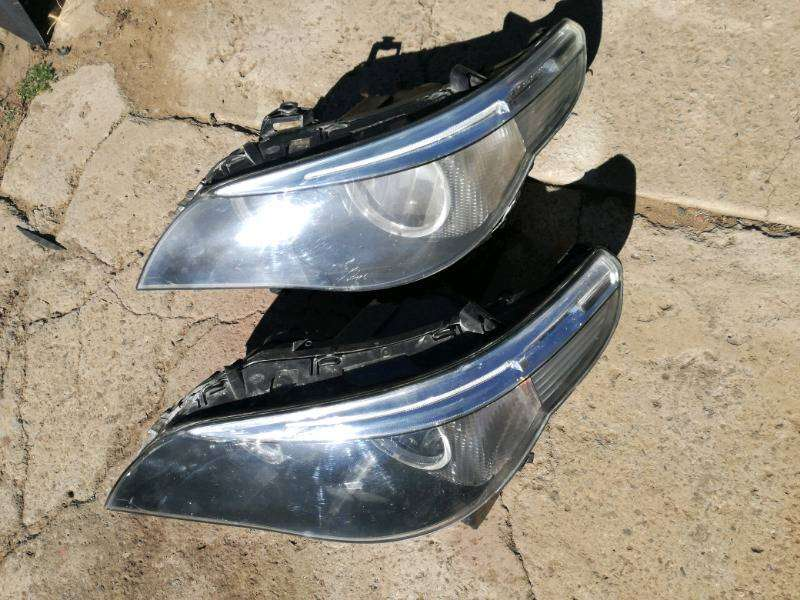 BMW E60 5 Series headlights 0