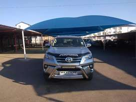 2018 silver toyota Fortuner 2.8 Gd-6 Automatic