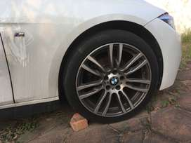 """BMW F30 19"""" Motorsport Rims and Tyres"""