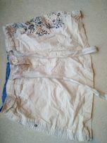 Юбка белая новая, с вышивкой, DENIM CO, 16 EU (44)