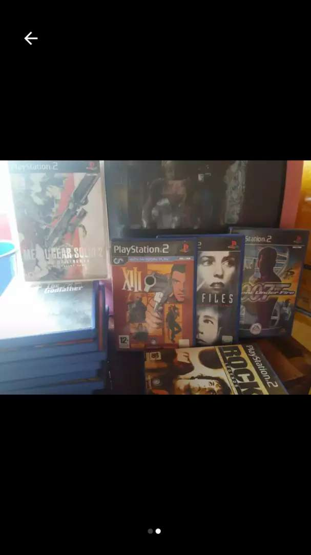 Ps2 games for sale @ 8000 0
