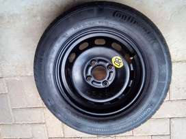 175/70/14 spare wheel (rim and tyre)