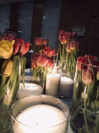 Аренда, прокат насыпных свечей Киев ДЕШЕВО! Свадьбу, презентацию Киев - изображение 6