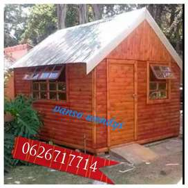 Quality wooden house