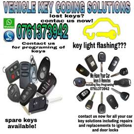 Vehicle key coding solutions and Services
