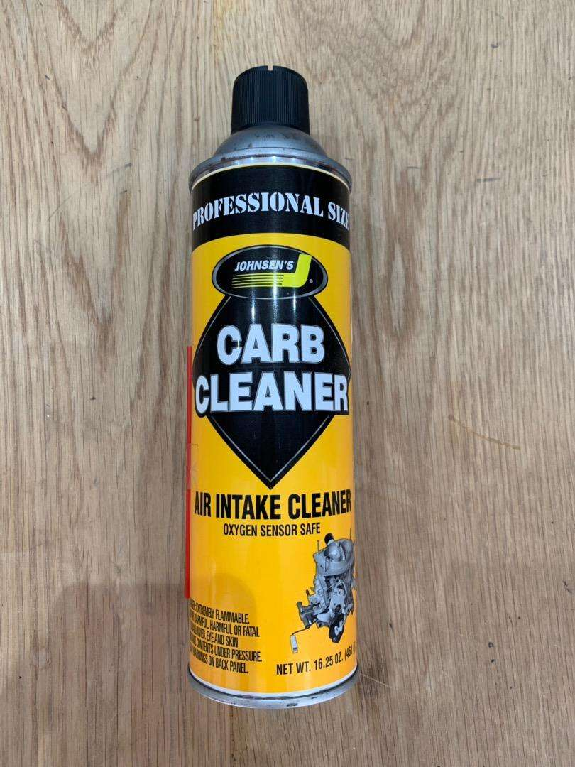 Carb cleaner 0