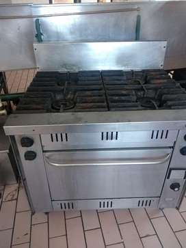 Stove and 3 phase oven vulcan burner
